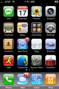 IPhone Screen - Jailbreak 3GS 4.0 Complete!